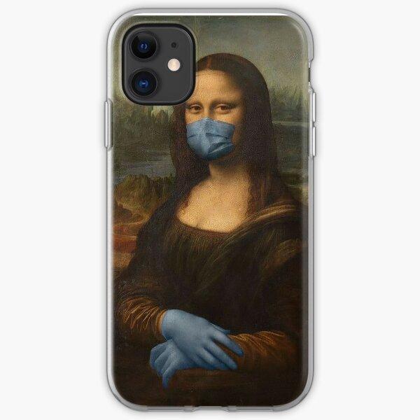Mona Lisa Joke iPhone Soft Case