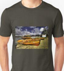 Rowing Boats at Ambleside  Unisex T-Shirt