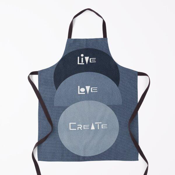 Live,Love,Create (2) Apron