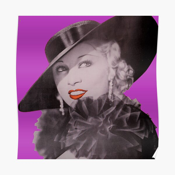 Mae West the Blonde Vamp Poster