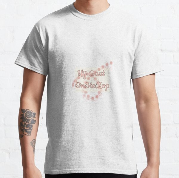 hij gaat OnSteKop Classic T-Shirt