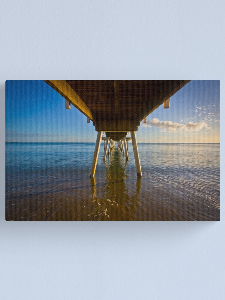 Alternate view of Under The Jetty Canvas Print