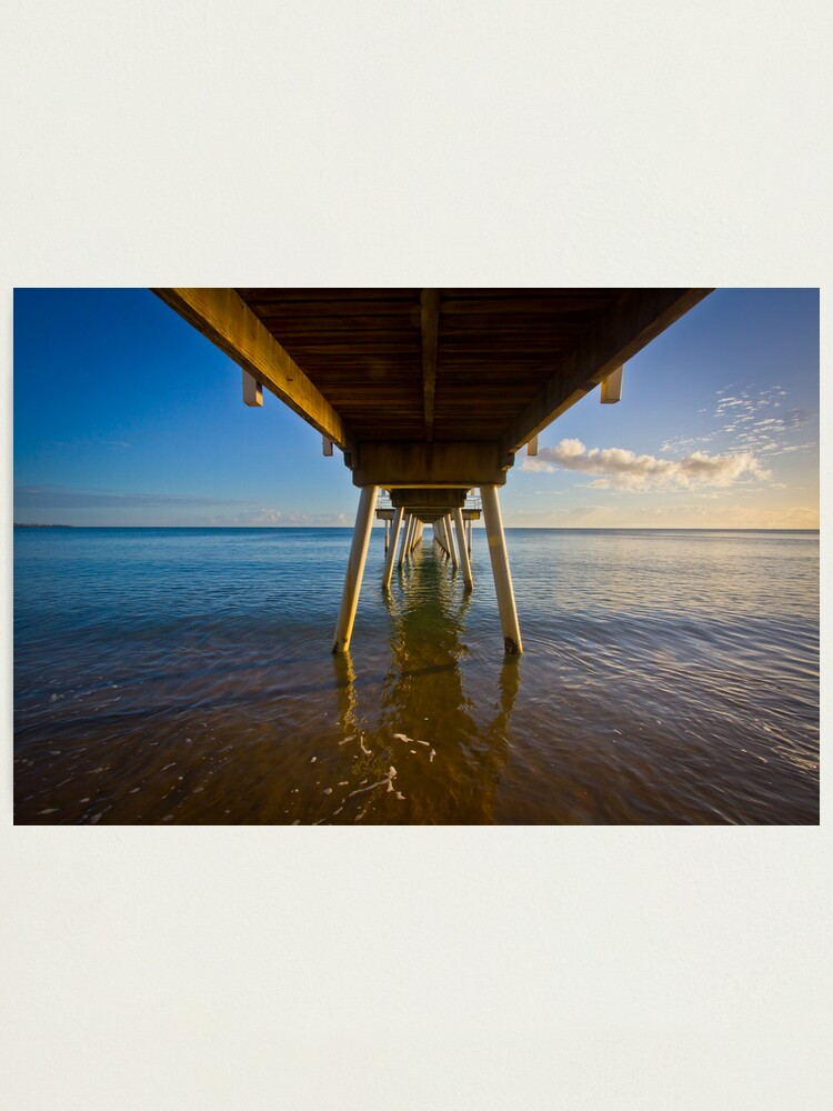 Alternate view of Under The Jetty Photographic Print