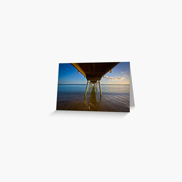 Under The Jetty Greeting Card