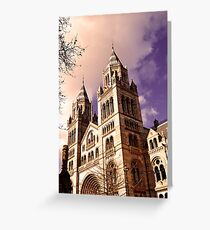 National History Museum- London Greeting Card