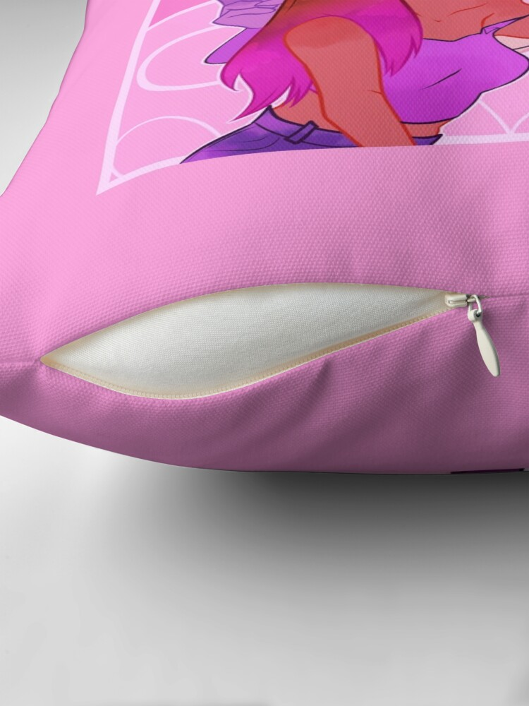 Alternate view of Spiderbyte (Overwatch) Throw Pillow