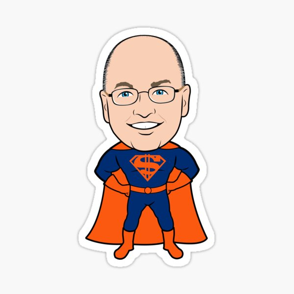 Super Steve Cohen Sticker