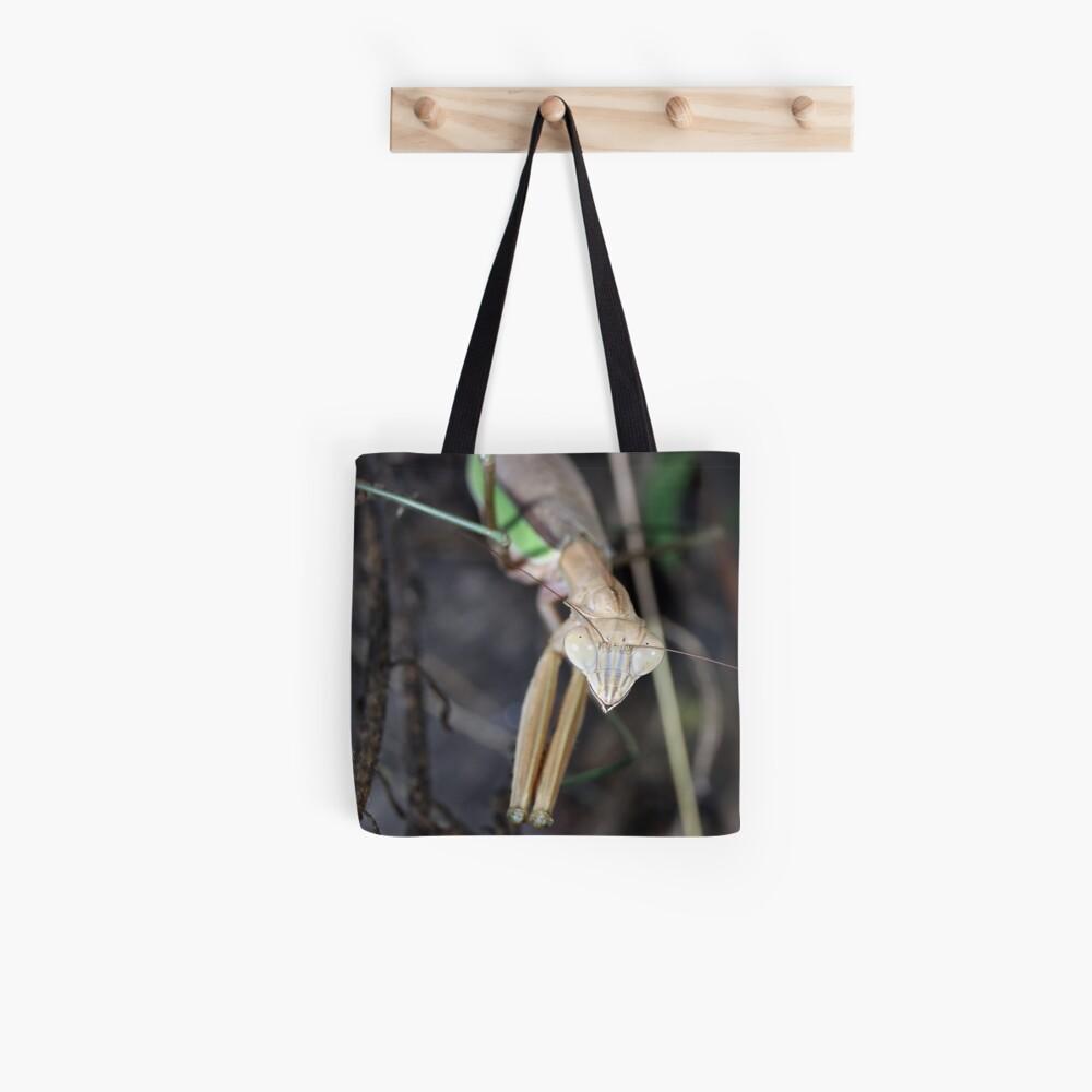 Chinese Mantis BUG-FACE! Tote Bag