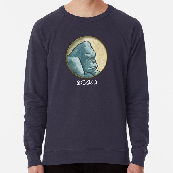 Grumpy gorilla Lightweight Sweatshirt