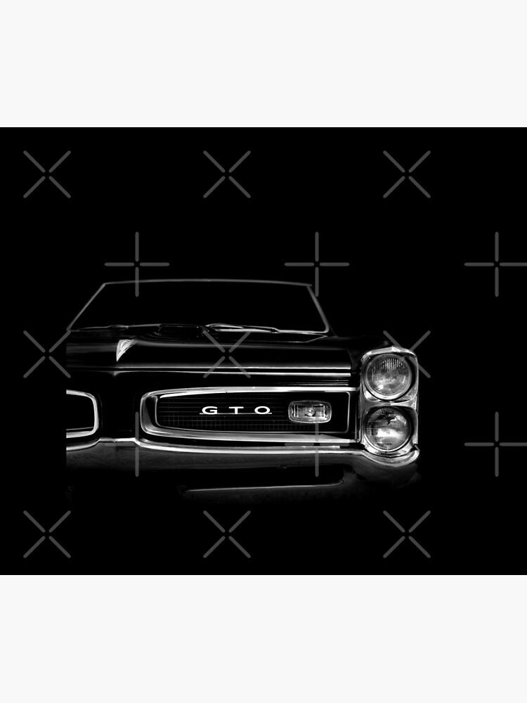 1966 Pontiac GTO - black by mal-photography