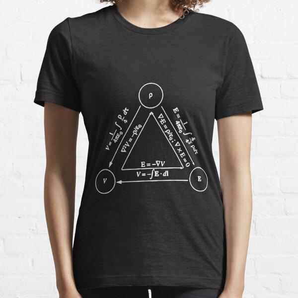 Electrostatics [DARK] Essential T-Shirt