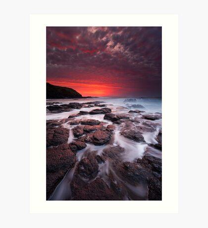 The Flinders Blowhole Art Print