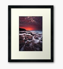 The Flinders Blowhole Framed Print