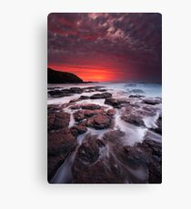 The Flinders Blowhole Canvas Print