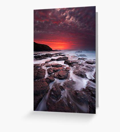 The Flinders Blowhole Greeting Card