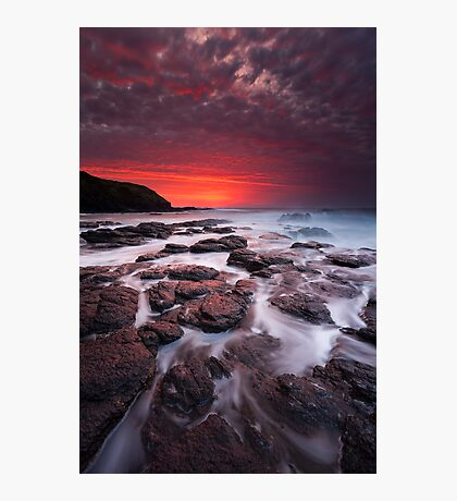 The Flinders Blowhole Photographic Print