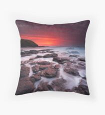 The Flinders Blowhole Throw Pillow