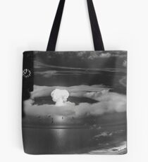 Mushroom Cloud Operation Crossroads Nuclear Weapons Test (July 1946) Tote Bag