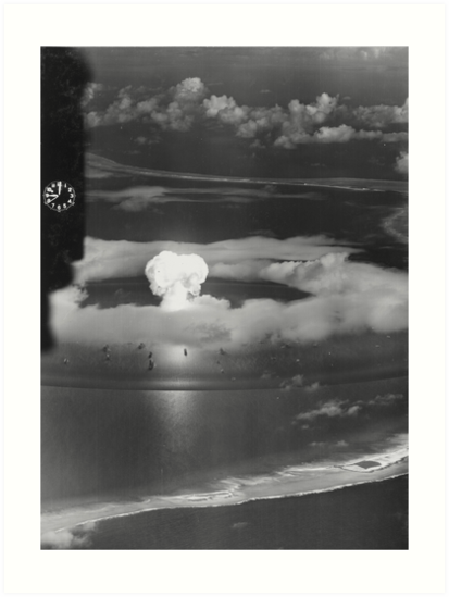 Mushroom Cloud Operation Crossroads Nuclear Weapons Test (July 1946) by allhistory