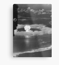 Mushroom Cloud Operation Crossroads Nuclear Weapons Test (July 1946) Metal Print