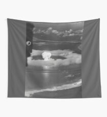 Mushroom Cloud Operation Crossroads Nuclear Weapons Test (July 1946) Wall Tapestry