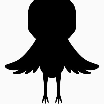 Iwatobi-Chan Mascot Silhouette by gtooth
