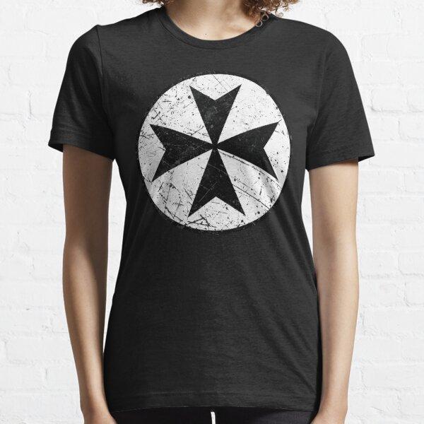 Knights Hospitaller Order Cross Essential T-Shirt