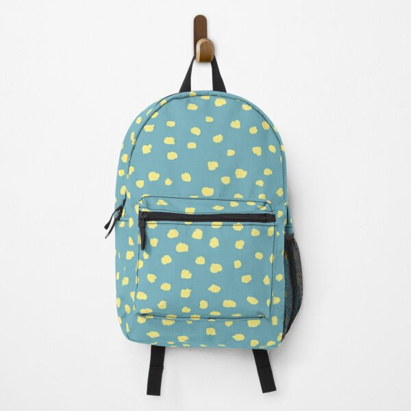 Dalmatian Dots on turquoise Sea Green_simple pattern Backpack
