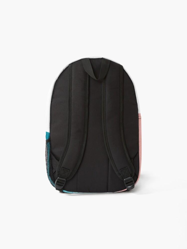 Alternate view of Turquoise Blue Ocean Waves Backpack