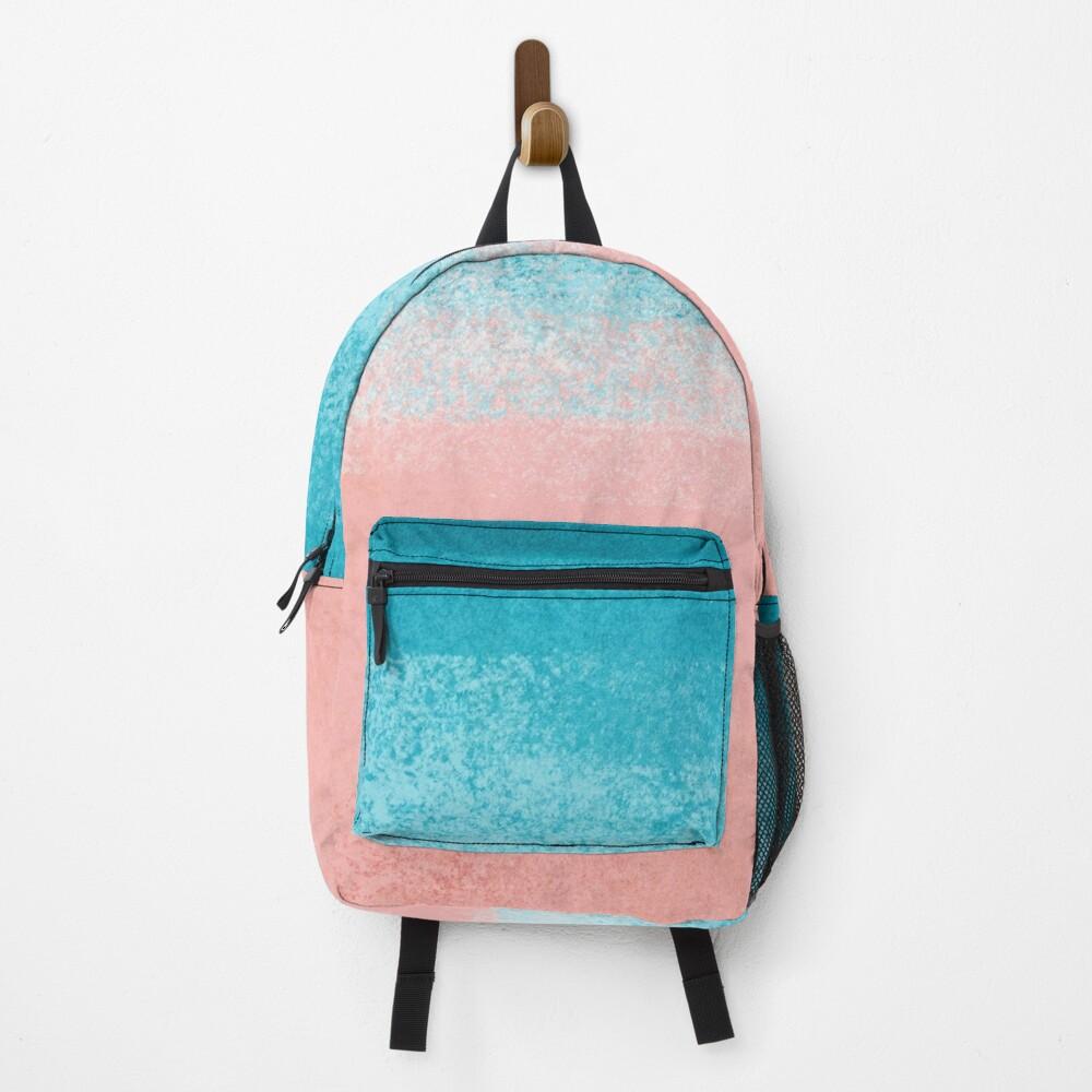 Turquoise Blue Ocean Waves Backpack