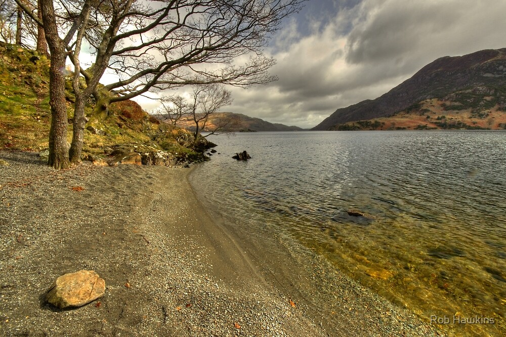 Landscape of the Lake  by Rob Hawkins