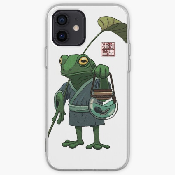 A Frog and His Son iPhone Soft Case