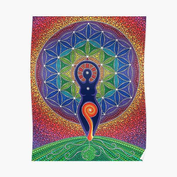 Goddess of the World Poster