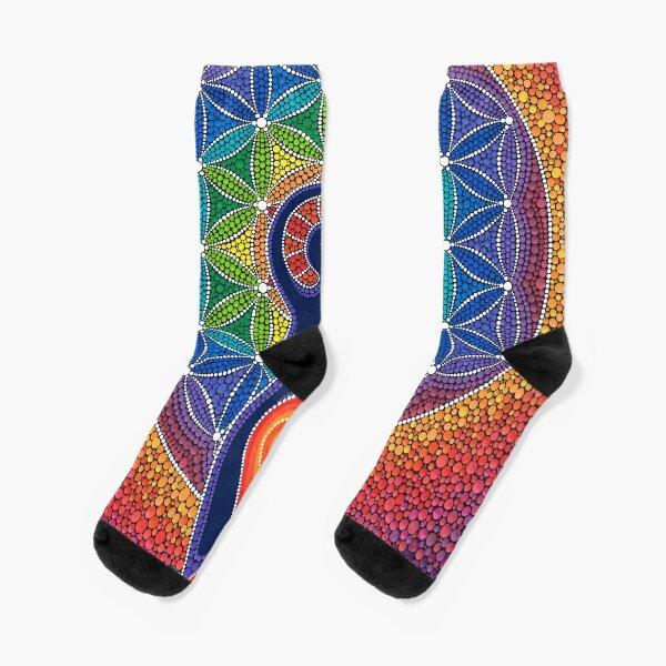 Goddess of the World Socks