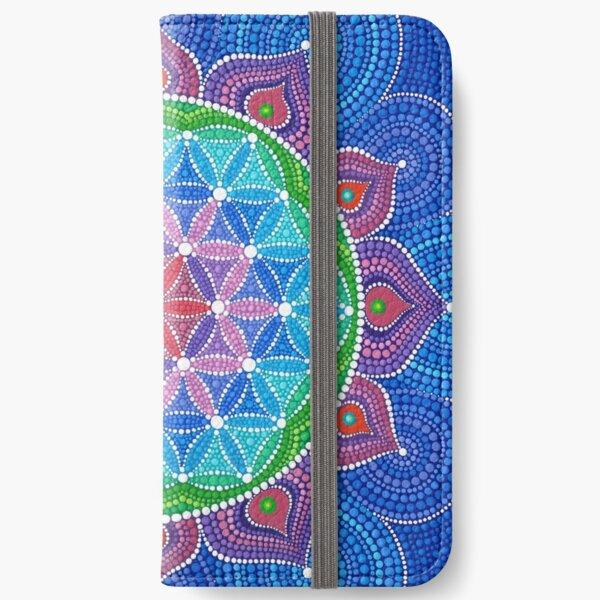 Divine Lotus Mandala iPhone Wallet