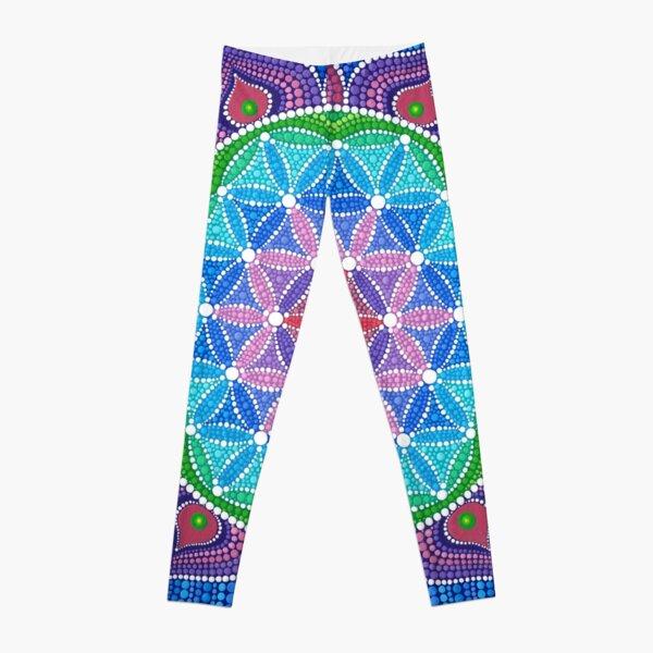Divine Lotus Mandala Leggings