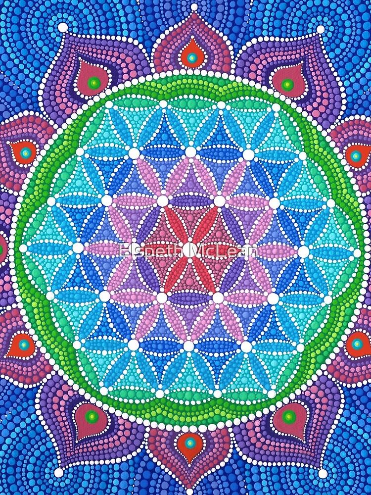 Divine Lotus Mandala by ElspethMcLean
