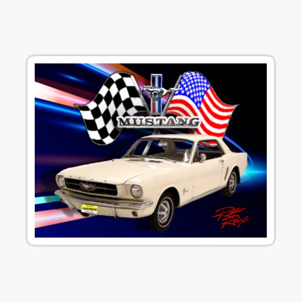65 Mustang Project Sticker