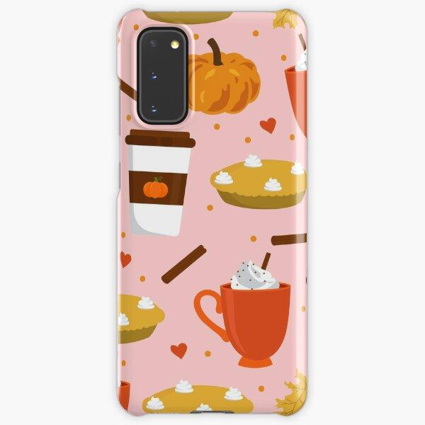 love pumpkin spice pink Samsung Galaxy Snap Case