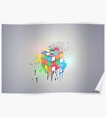 Light Cube Poster