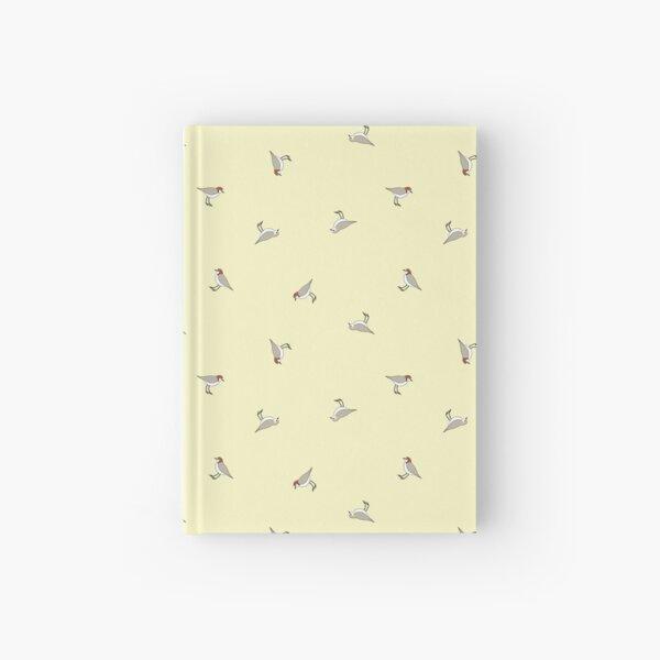 Scattered Red-caps (lemon) Hardcover Journal
