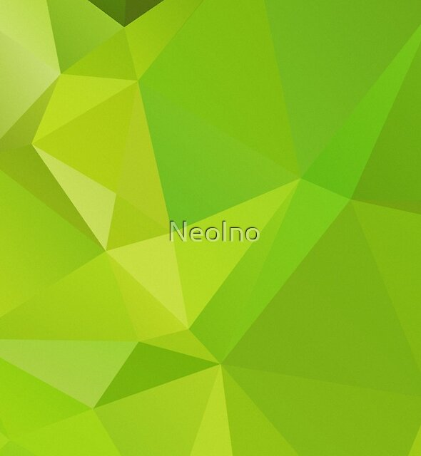 Lime Polygon by NeoIno