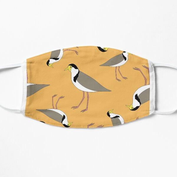Lapwings Galore (gold) Flat Mask