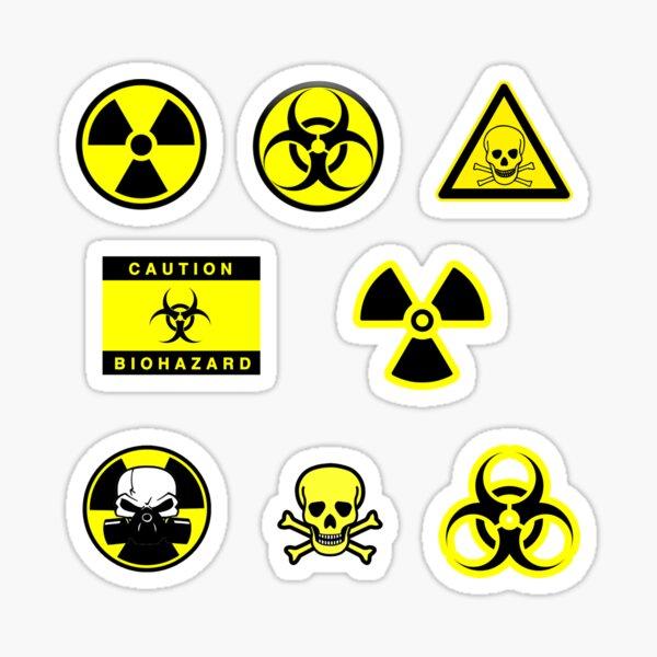 Biohazard - Nuclear Stickers Sticker