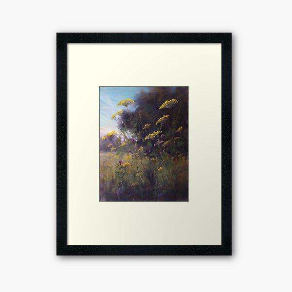 Mid Summer's Beauty Framed Art Print
