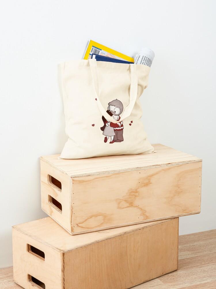 Alternate view of Holiday John & Catana #2 Tote Bag
