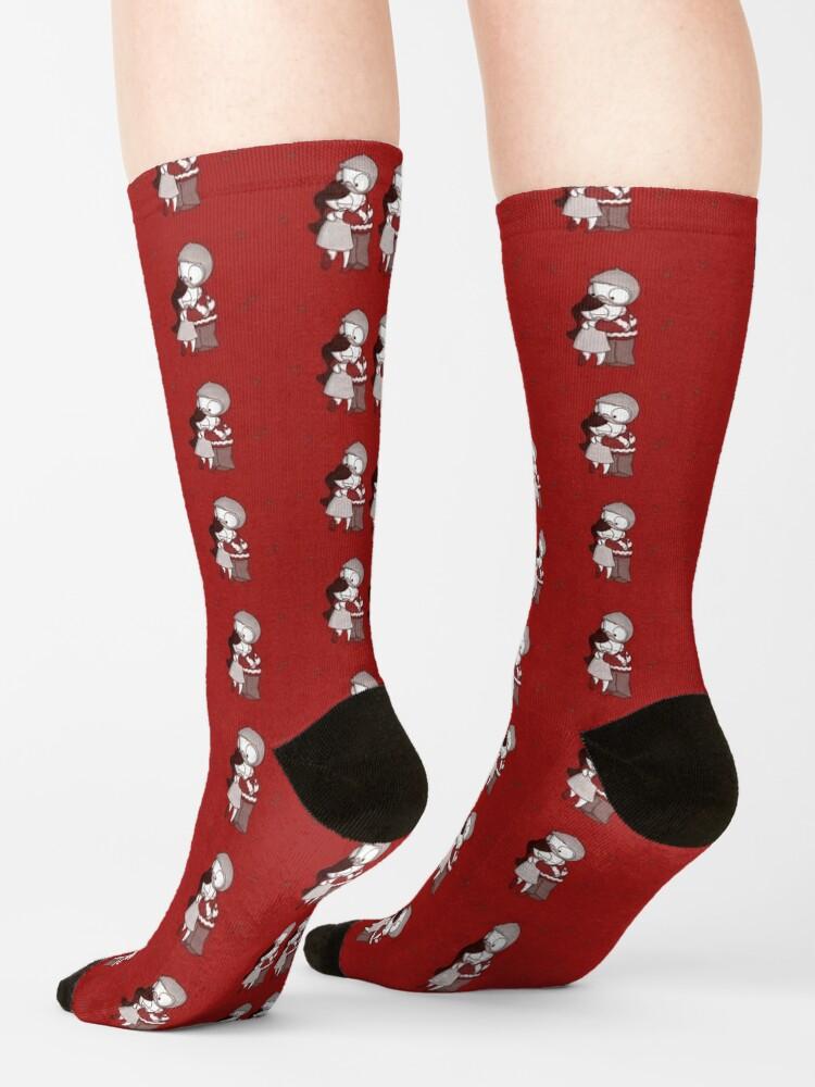 Alternate view of Holiday John & Catana #2 Socks