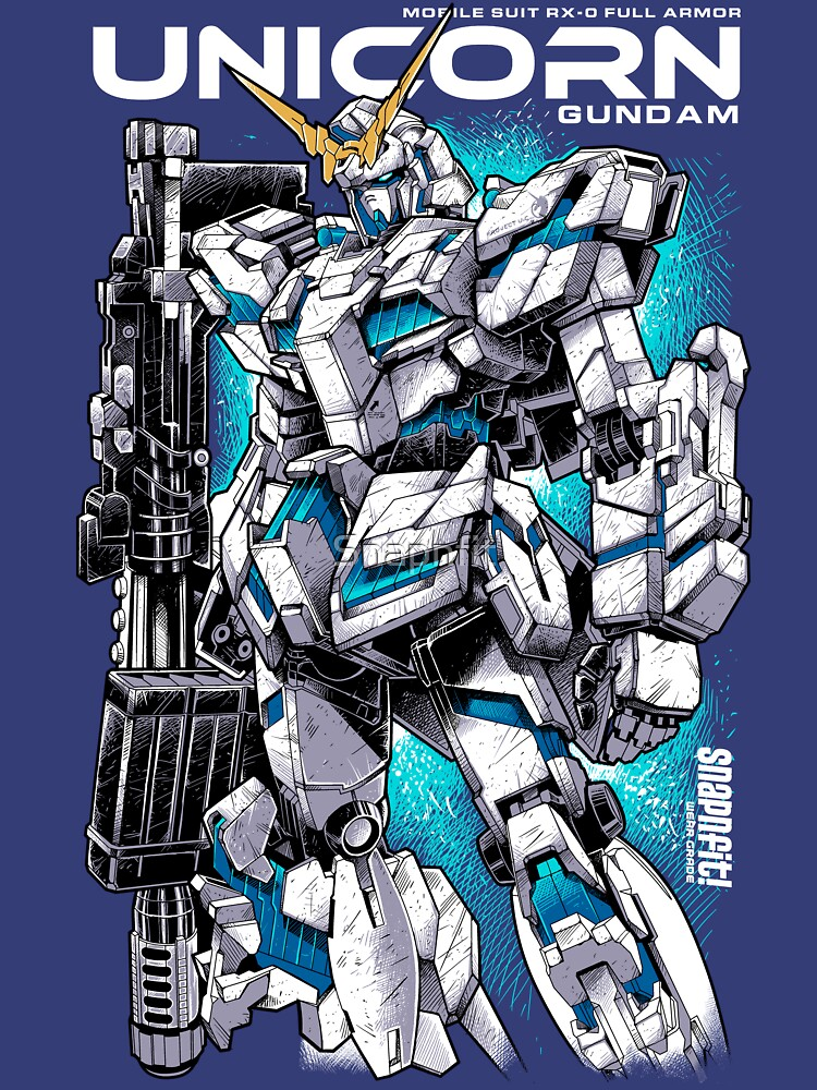Unicorn Gundam T-Shirt | Unisex T-Shirt
