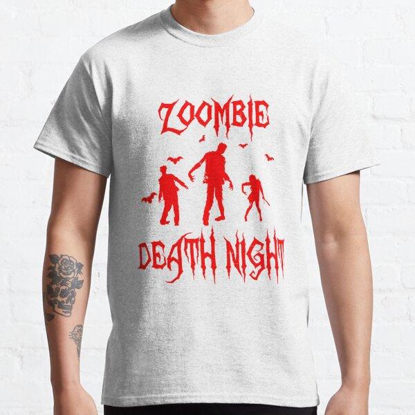 Zoombie Halloween Night Classic T-Shirt