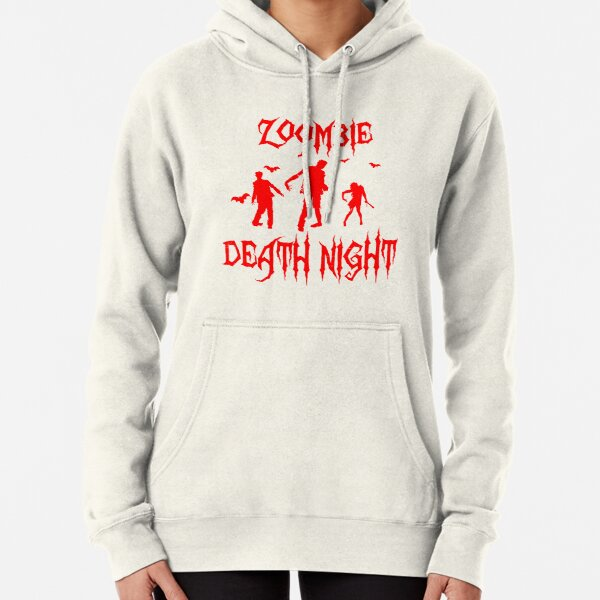 Zoombie Halloween Night Pullover Hoodie